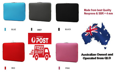 """Soft Case Cover Sleeve Bag Pouch-ACER, ASUS,HP & LENOVO 11.6""""inch Tablets Laptop"""