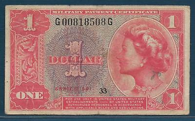 U.S. MPC 1 Dollar, 1961, Series 591, P M47, F