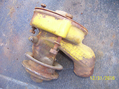Vintage Minneapolis Moline Rtu  Tractor -Engine Water Pump & Plate - 1943
