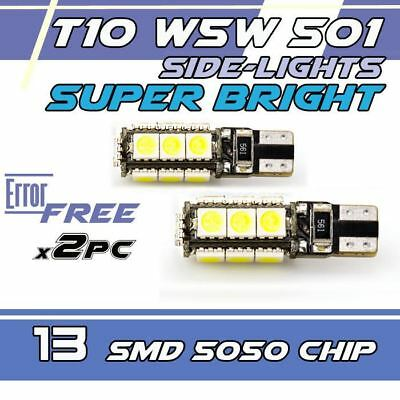 13 smd CANBUS, W5W T10 501 LED, SIDE LIGHT BULBS,  Lexus  IS 220d ,TOYOTA