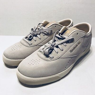 930df52a7ad77 NWT PALACE X Reebok Mens Club Workout Gray Leather Sneakers SS18 7.5 ...