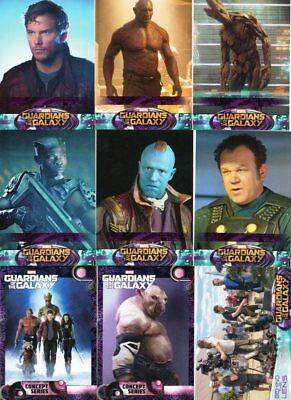 Marvel Guardians of the Galaxy 2014 - Upper Deck - Mini Master Set of 171 Cards