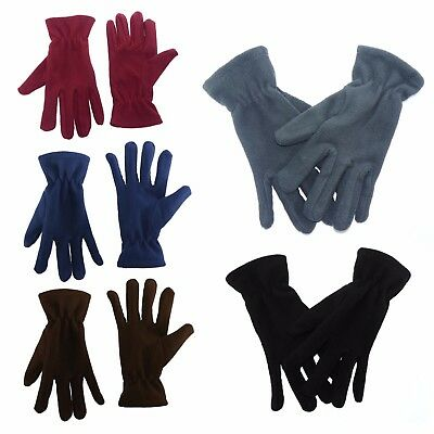 New Ladies Fleece Thermal Winter Gloves Warm Christmas Gift Bike Driving 8132