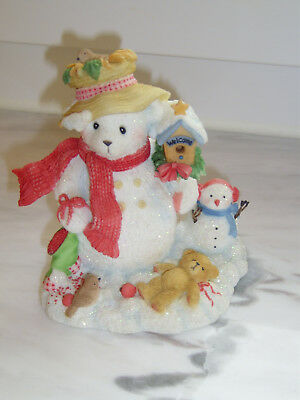 """Cherished Teddies - MERRY """"In The Meadow We Can Build A Snowman"""", wie neu"""
