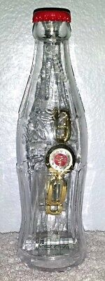 Coca Cola Watch In A Bottle Collectable Bank