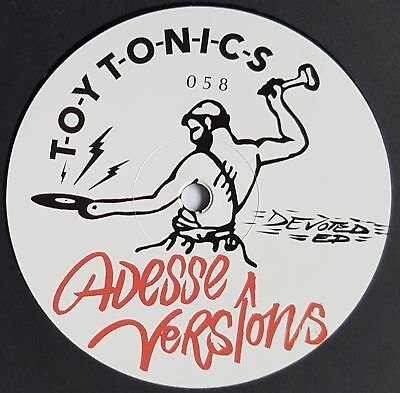 "Adesse Versions - Devoted EP - 12"" Vinyl - Toy Tonics"