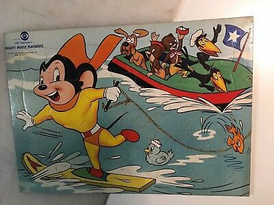 Vintage MIGHTY MOUSE Playhouse CBS Television Puzzle