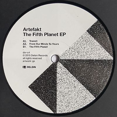"Artefakt - The Fifth Planet EP - 12"" Vinyl - Delsin"