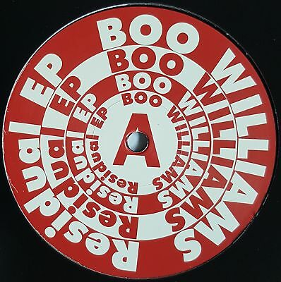 "Boo Williams - Residual EP - 12"" Vinyl - Rush Hour Recordings"