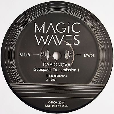 "Casionova - Subspace Transmission 1 - 12"" Vinyl - Magic Waves"