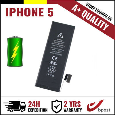 A+ Replacement Remplacement Battery/batterij/batterie/accu Li-Ion For Iphone 5