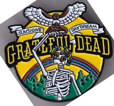 Grateful Dead - Sunshine / Daydream - Enamel With Double Pin