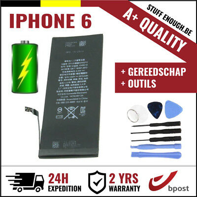 A+ Replacement Remplacement Battery/batterij/batterie/accu + Tools For Iphone 6