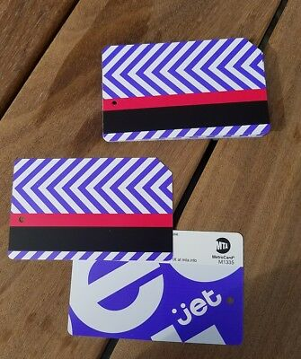 Metrocard . New release. Jet advertising .Mint cond.NYC Subway ( + Bonus)