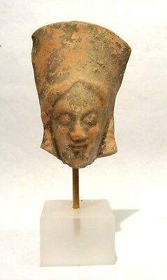 Tete Grecque De Kore - 500 Avt Jc  - 500 Bc - Ancient Greek Kore Terracotta Head