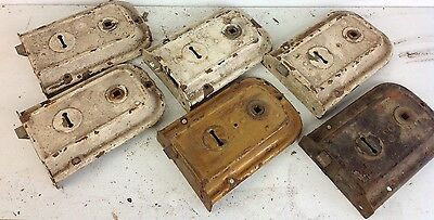 6 Vintage Reclaimed Door Rim Locks Salvaged Old Project Architectural