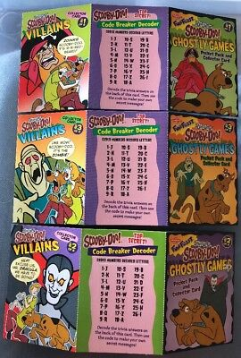 Scooby Doo Villains Complete Card Set Swanson