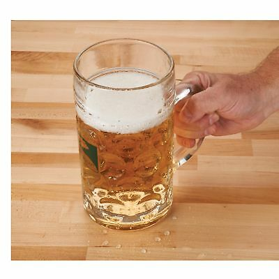 Woodcraft 1-Liter Glass Beer Mug