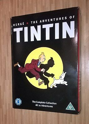Herge's Adventures of Tintin, The Complete Collection DVD Box Set.