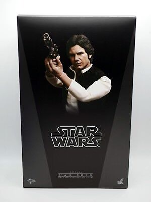 NEW Star Wars Episode IV 1:6 Han Solo Figure Hot Toys HARRISON FORD WOW