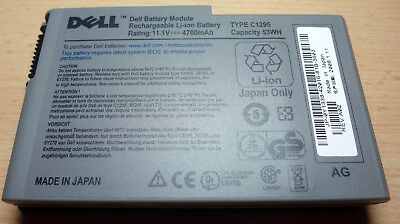Dell Notebookakku Type C1295 53 Wh
