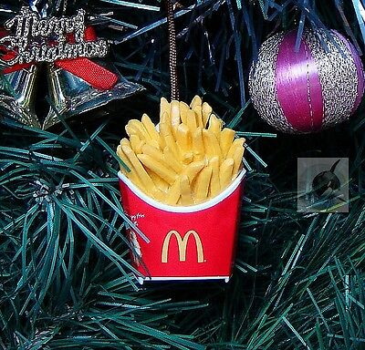 Home Party Decoration Xmas Ornament Tree Decor McDonald's French Fries *M13