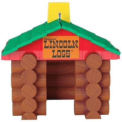 2017 Hallmark Ornament  Lincoln Logs HASBRO