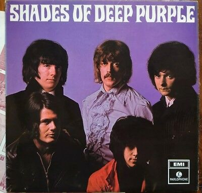 Deep purple lp shades of purple rare 1st press ex/vg+