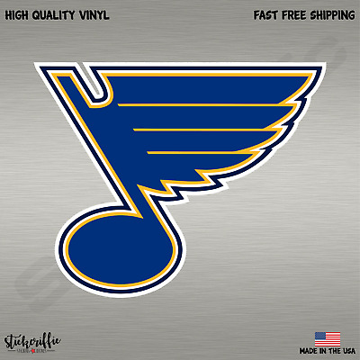 St. Louis Blues NHL Hockey Full Color Logo Sports Decal Sticker