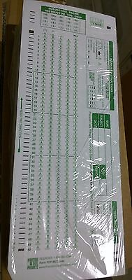 TEST FORMS Scantron 882-E Compatible 25 pack double sided