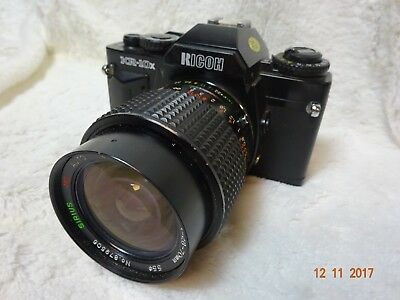 RICOH KR-10x 35mm SLR FILM CAMERA WITH  28 70mm mc LENS. EXCELLENT student