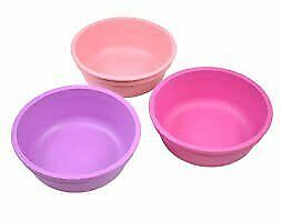 Re-Play Bowls, Pink, Light Pink, Purple, 3-Count