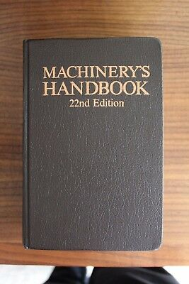 Machinery's Handbook 22nd Edition, Excellent Condition