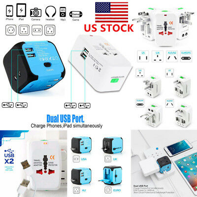 Universal International/World/Travel Adapter/Converter Plug Power US/UK/AU/EU