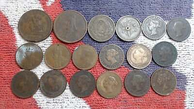 Canada 18  Problem  Tokens  And Large Cents................#90.....no  Reserve