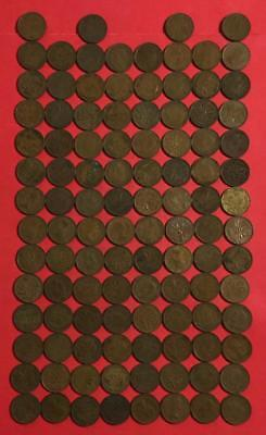 1939-1959 Canada CENTS Collection of 108 Assorted Coins!