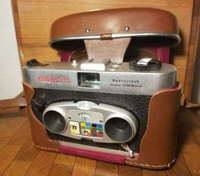 Excellent Vintage View-Master Mark II Stereo Color Camera
