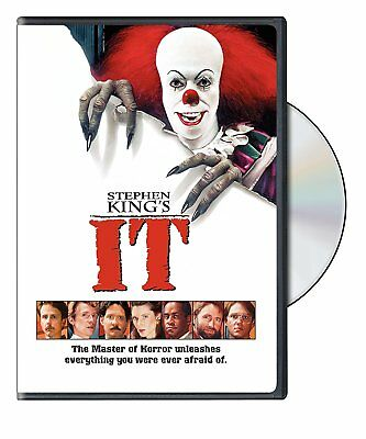 Stephen King's It (DVD) Clowns Scary Thriller Horror Movie English NTSC Region 1