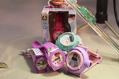 Lot Of Six New Disney Character Watches