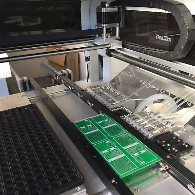 CE Approved PCB Prototype PnP Machine NeoDen4 5000CPH 4head and13 feeder-J