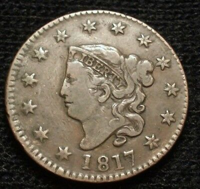 1817 Large Cent Very Fine