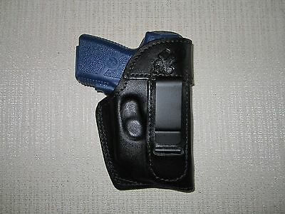 KAHR PM9 & CM9 with CT laser, iwb, FORMED right hand holster WITH SWEAT SHIELD