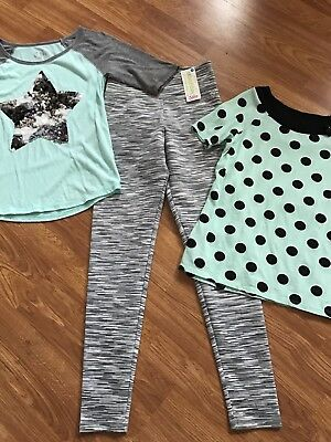 JUSTICE! Girls Small Mixed Lot Includes NWT Size 16