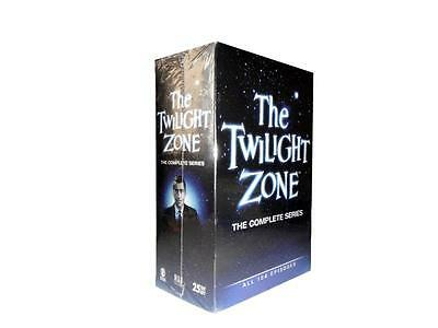The Twilight Zone: Complete Series Season 1-5 (DVD, 2013, 25-Disc Set) 1 2 3 4 5
