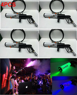 4x Portable CO2 gun Co2 jet machine for DJ Disco party stage effect show event