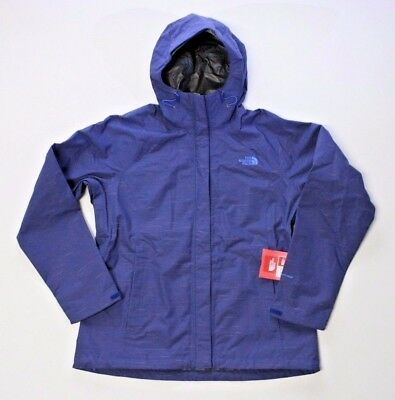56c9a262e THE NORTH FACE Venture Waterproof DryVent Midline Blue Women Medium Rain  Jacket