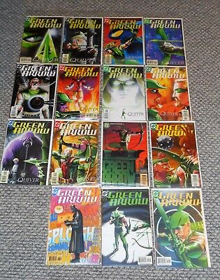 DC Comics GREEN ARROW Kevin Smith Run QUIVER series lot of 15 issues