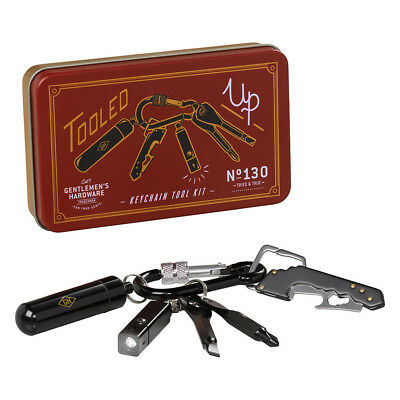 NEW Gentlemen's Hardware Keychain Tool Kit