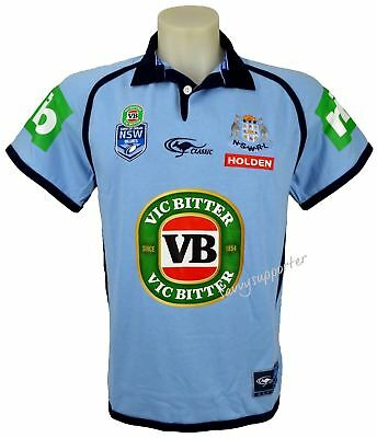 NSW Blues State of Origin NRL Classic Jersey 'Select Size' S-5XL5