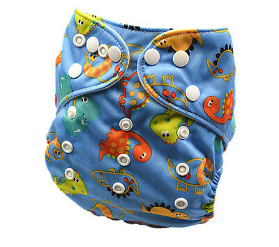 Modern Cloth Nappy MCN Reusable Adjustable Baby Boy Boyish One Size Nappy (D199)